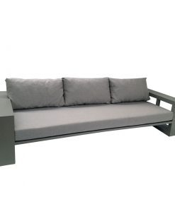 borek everglades bank sofa aluminium